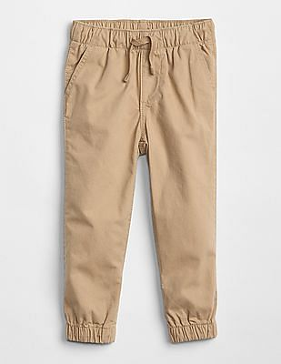 GAP Toddler Boy Pull-On Canvas Joggers