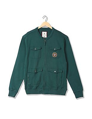 U.S. Polo Assn. Denim Co. Utility Sweat Jacket