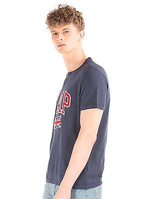 GAP Heathered Appliqued T-Shirt