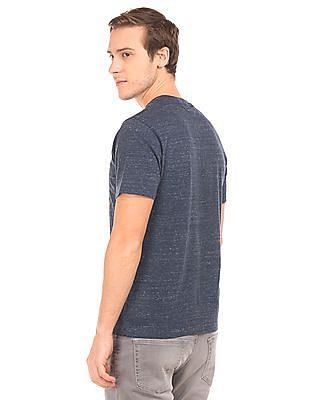 Aeropostale Regular Fit Heathered T-Shirt