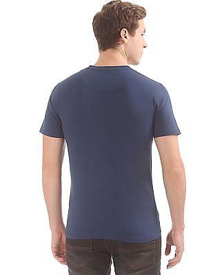 Cherokee Graphic Print Crew Neck T-Shirt