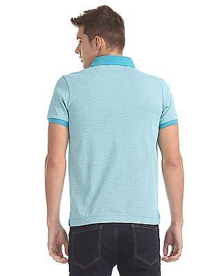 Arrow Sports Printed Polo Shirt
