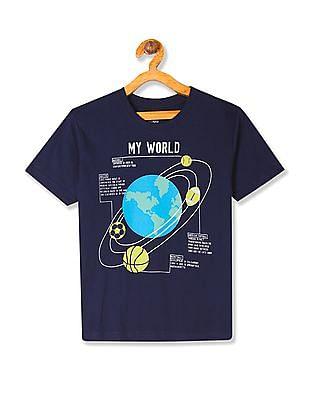 04e7723d Buy Boys 279610681 Navy Boys T-Shirt online at NNNOW.com