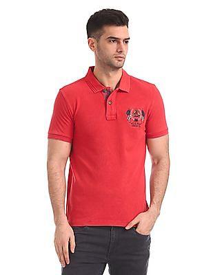 U.S. Polo Assn. Denim Co. Regular Fit Short Sleeve Polo Shirt