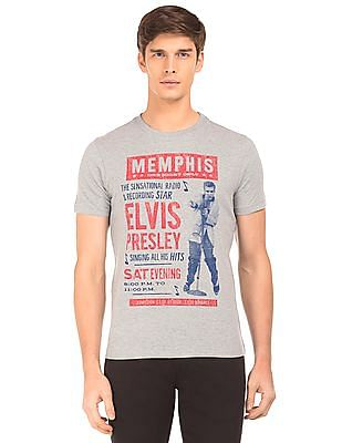 Aeropostale Elvis Print Short Sleeve T-Shirt