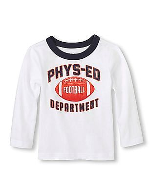 The Children's Place Baby Long Sleeve Physical Education T-Shirt