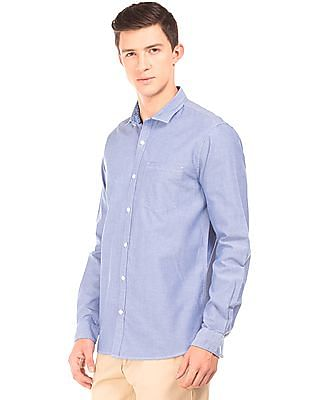 Roots by Ruggers Contemporary Fit Cotton Shirt