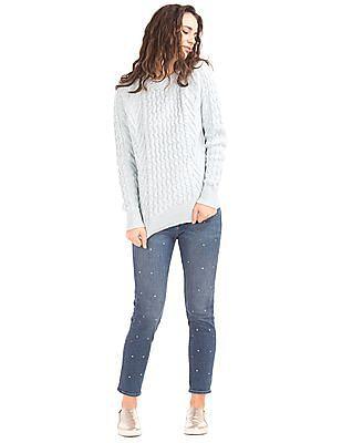 GAP Authentic 1969 Stud Best Girlfriend Jeans