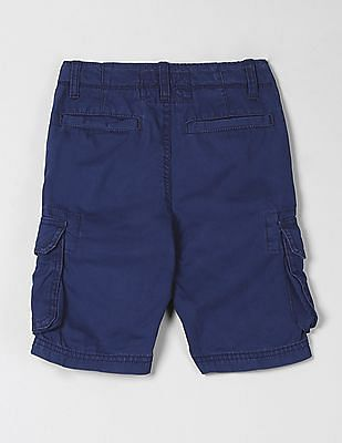 GAP Boys Cargo Shorts in Poplin