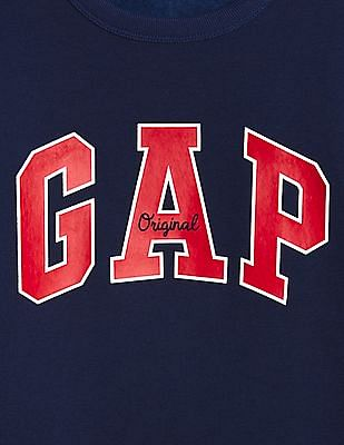 GAP Blue Boys Logo Sweatshirt