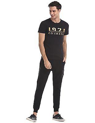 Ed Hardy Slim Fit Appliqued T-Shirt