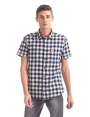 U.S. Polo Assn. Denim Co. Slim Fit Short Sleeve Shirt