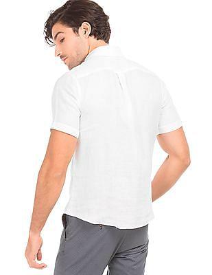 U.S. Polo Assn. Solid Linen Shirt