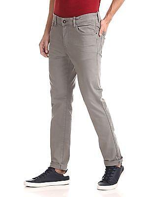 U.S. Polo Assn. Denim Co. Brandon Slim Tapered Fit Mid Waist Jeans