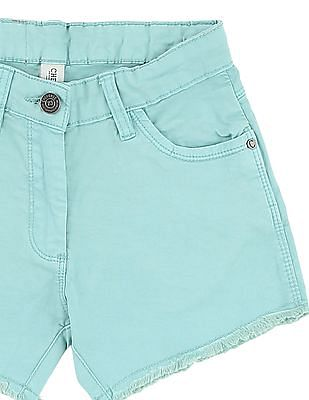 Cherokee Girls Five Pocket Denim Shorts