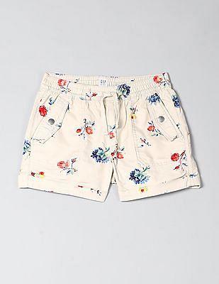 GAP Girls Cargo Pull-On Shorts