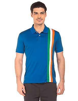 Arrow Sports Mesh Panel Regular Fit Polo Shirt