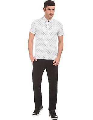 Nautica Slim Fit Printed Polo Shirt