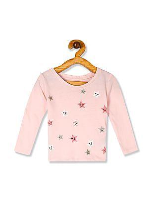 GAP Pink Toddler Girl Graphic T-Shirt