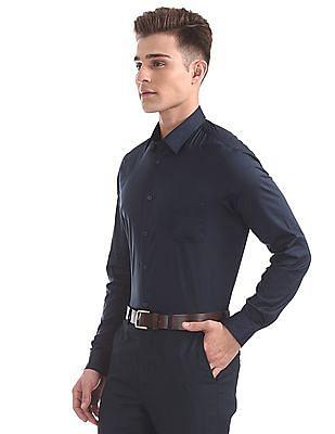 Arrow Newyork Slim Fit Solid Shirt