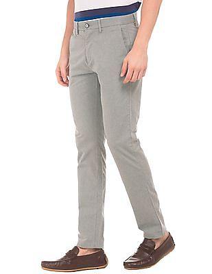 U.S. Polo Assn. Herringbone Slim Fit Trousers