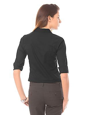 Arrow Woman Regular Fit Cotton Lycra Shirt