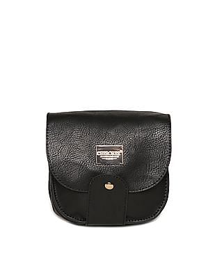 Cherokee Textured Faux Leather Sling Bag