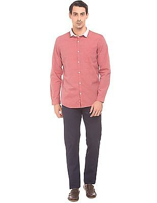 Ruggers Contrast Collar Regular Fit Shirt