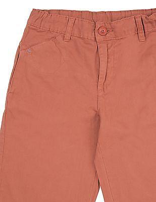 Cherokee Boys Solid 3/4Th Shorts