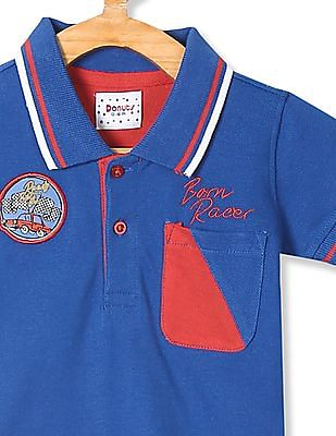 Donuts Boys Patch Pocket Polo Shirt