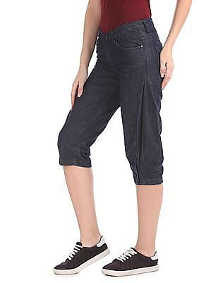 Flying Machine Women Veronica Skinny Cropped Jeans