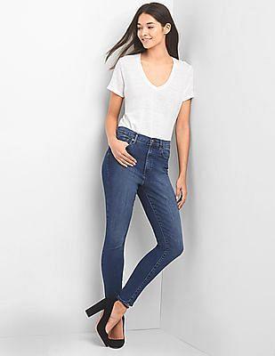 GAP 1969 True Skinny High Rise Jeans