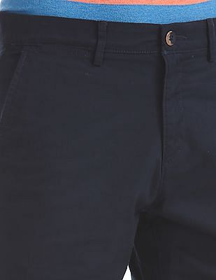 U.S. Polo Assn. Slim Fit Flat Front Shorts