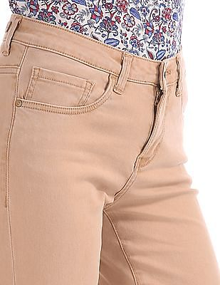 U.S. Polo Assn. Women Skinny Fit Dyed Jeans