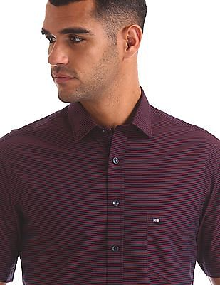 Arrow Sports Regular Fit Striped Shirt