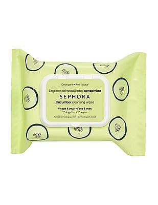 Sephora Collection Cleansing And Exfoliating Wipes - Cucumber