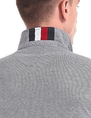 Arrow Sports Short Sleeve Patterned Polo Shirt