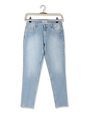 Flying Machine Women Skinny Fit Stone Wash Jeans