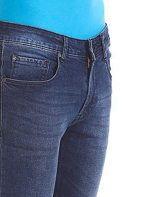 Colt Blue Skinny Fit Low Waist Jeans