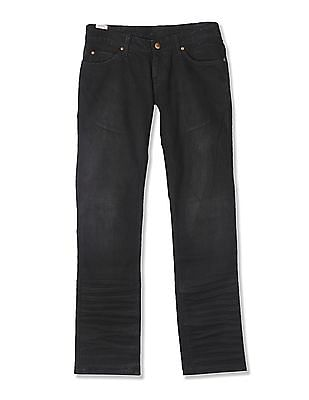 Flying Machine Women Low Rise Regular Straight Fit Jeans