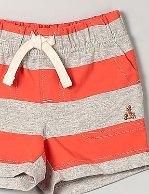 GAP Baby Orange Stripe Shorts
