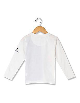 Colt Boys Printed Long Sleeve T-Shirt