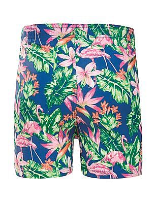 Aeropostale Tropical Print Cotton Boxers
