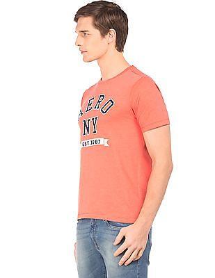 Aeropostale Brand Applique Crew Neck T-Shirt