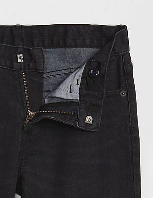 GAP Toddler Boy Black FantastiFlex Super Denim Straight Jeans
