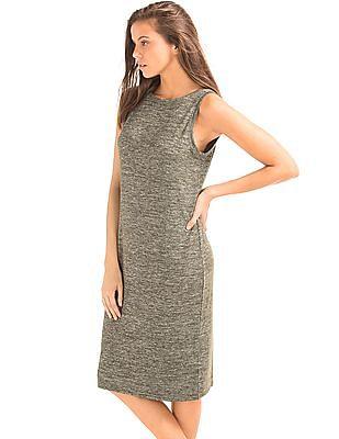 GAP Soft Spun Marled Midi Dress