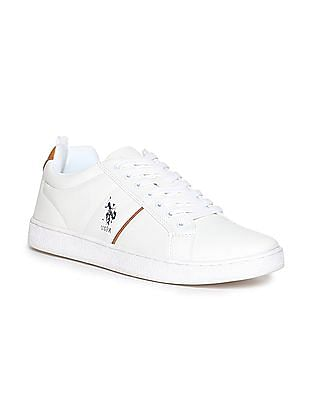 U.S. Polo Assn. Panelled Lace Up Sneakers