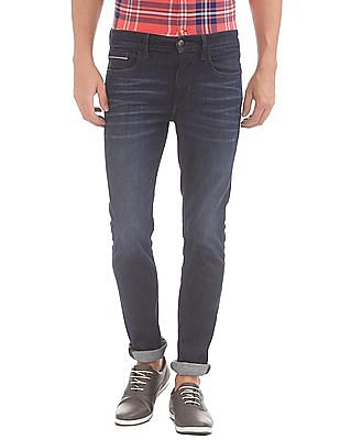U.S. Polo Assn. Denim Co. Dark Wash Whiskered Jeans