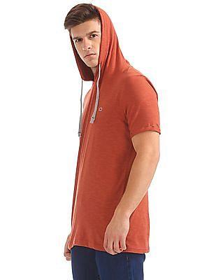 Colt Hooded Slub Knit T-Shirt