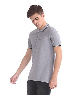 Roots by Ruggers Regular Fit Tipped Polo Shirt